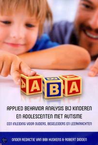 Boek autisme ABA Applied behavior analysis bij kinderen